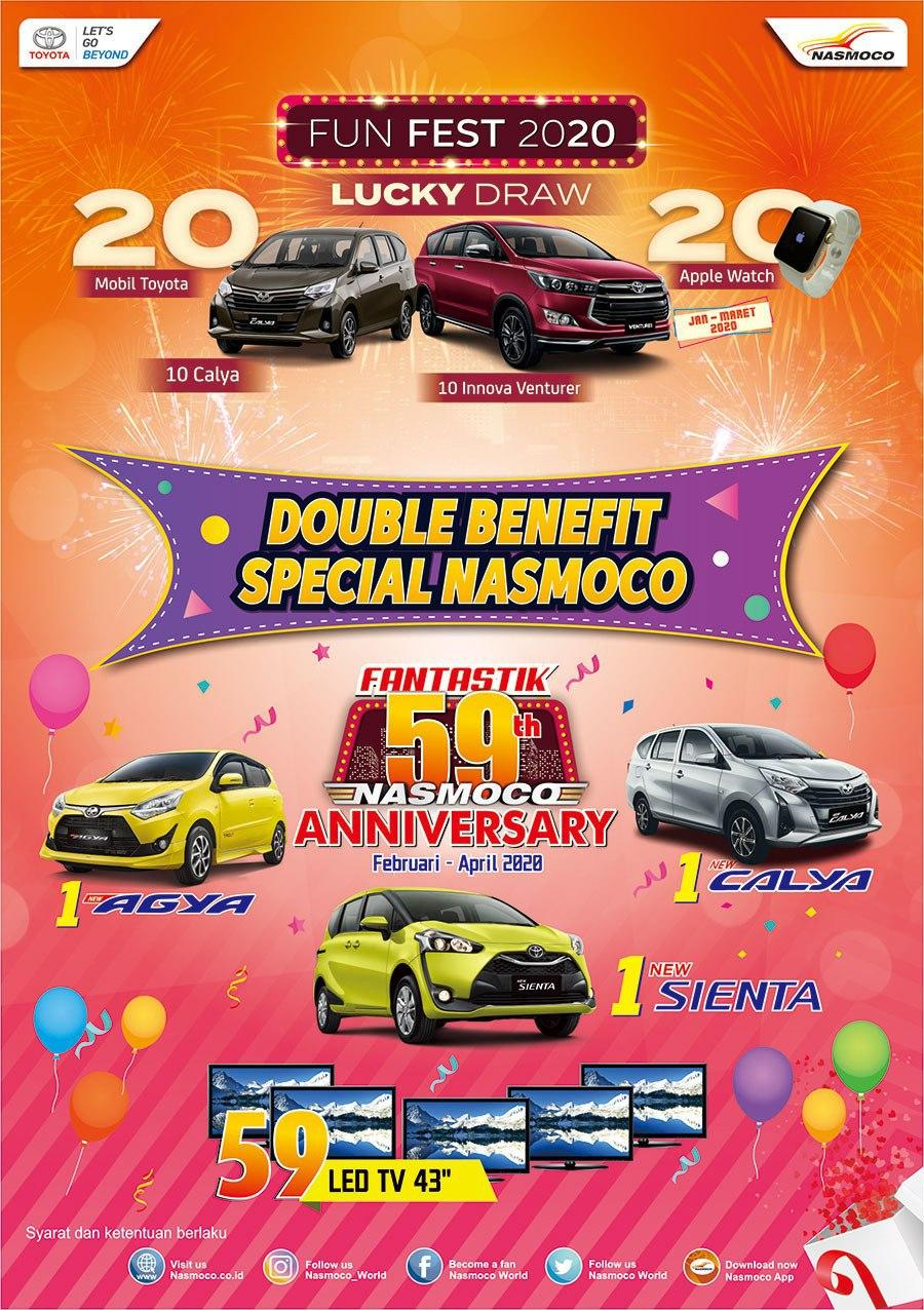 Promo Double Benefit Spesial Nasmoco Di Dealer Toyota Solo